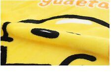 "Gudetama Basic Egg Illustration Fleece Blanket Warm Throw Blanket 39""x27"""