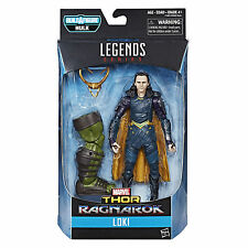 "HASBRO MARVEL LEGENDS AVENGERS THOR RAGNAROK LOKI 6"" INCH ACTION FIGURE BAF"