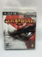 God of War III (Sony PlayStation 3, 2010) PS3 Game with Case and Instructions