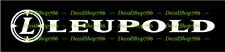 Leupold Rifle Scopes II - Hunting & Shooting - Vinyl Die-Cut Peel N' Stick Decal