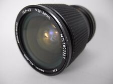CANON FD GEMINI MC macro zoom 28~80/3.5 CLEAN GLASS WORKS WELL NICE USABLE COND