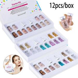 12Pcs/Set 8Ml BB Glow Skin Cream Foundation White Brightening Serum with Drop