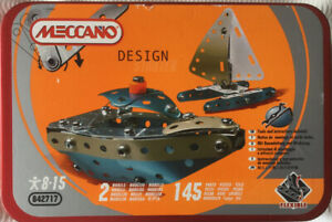 MECCANO NEW/SEALED COMPLETE WIYH INSTRUCTIONS FOR MAKING 2 MODELS 145 PARTS