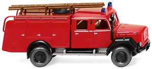 """Wiking 086337 Magirus Deutz TLF 16  """"Feuerwehr"""" HO 1:87 NEU"""