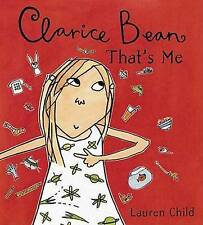 NEW Clarice Bean, That's Me by Lauren Child