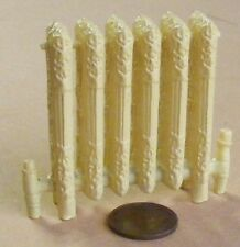 "1:12 Scale Dolls House Cream Coloured ""Cast Iron"" Style Non Working Radiator"