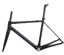 930g 48cm Carbon Frame Fork Seatpost Road Bicycle Di2 UD Matt 700C cycle BB30
