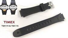Timex AEFCasio t5k174 & t5k173 Ironman 10 lap señoras negro-encaja t5k176