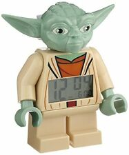 "LEGO - Star Wars ""The Clone Wars"" - Yoda - 7 Inch Tall Figurine Alarm Clock"