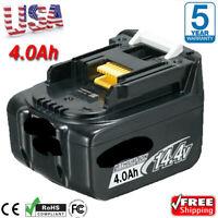 4.0Ah For Makita BL1440 14.4V Lithium Battery BL1430 BL1450 194066-1 194065-3 US