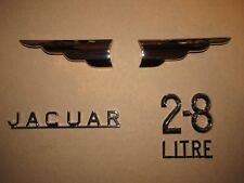 Jaguar XJ6 Series 1 2.8 Litre Saloon New Boot/Trunk Lid Badges/Emblems