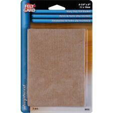 New listing Felt Blankets Furniture Pads Buffer Shepherd Hardware 9950 Heavy Duty 2pc, Beige