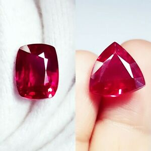 Loose Gemstone Natural Ruby Certified 8.00 to 10.00 Ct Mixed Shape N27
