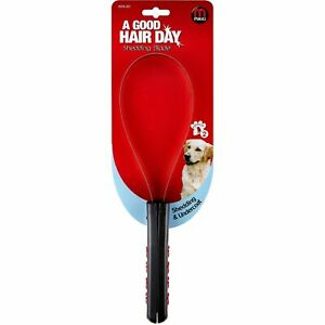 Mikki Shedding Blade For Loose & Unwanted Pet Coat Hair - With Soft Grip Handle