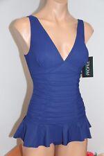 New Profile by Gottex Swimsuit 1 one piece Sz 12 swim dress skirt