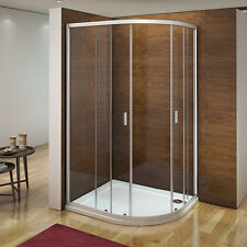 Aica 1200 x 800 Quadrant Shower Enclosure and Tray Corner Cubicle Right Hand R82