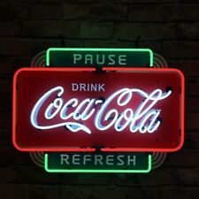 Coca Cola Vintage Neon Sign Light Beer Drinking Bar Sign Wall Decor Neon Light