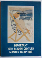 KATALOG IMPORTANT 19th & 20th CENTURY GRAPHICS SPRING 1983 ENGLISCH