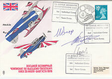Error AD21d The World Aerobatic  Championships Signed by 3 Russian Team World Ch
