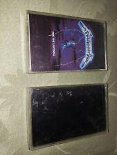 Lot Of 2 Metallica Cassettes - Ride the Lightning, Black Album