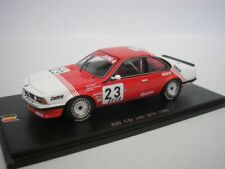 BMW 635 CSI #23 24hrs SPA 1985 M. ANGLE DU JARRET 1/43 SPARK SB066 NEUF