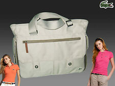 New Vintage LACOSTE Womens Ladies TOTE Bag new Casual 11 Grey