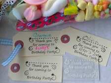 Kids Childrens Birthday Party Favour / Bag Clear Stamp. Can be self personalised