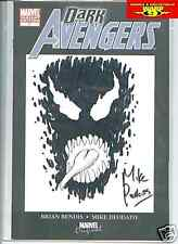 ORIGINAL VENOM MIKE PERKINS COMIC ART SKETCH!
