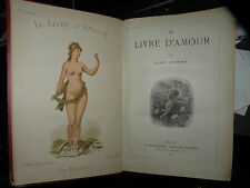 LE LIVRE D'AMOUR / JULES LERMINA / 1882