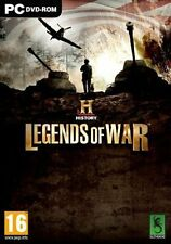 History Legends of War PC DVD Video Game Action Adventure 2013
