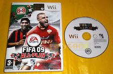 FIFA 09 ALL-PLAY Nintendo Wii Versione Italiana 1ª Edizione ○ SENZA MANUALE - B8