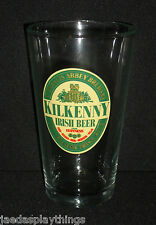 Kilkenny Irish Beer Glass Cup Guinness Red Abbey Brewery Luminarc 16 Oz