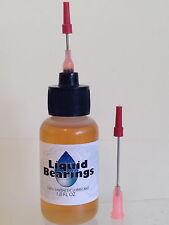 Liquid Bearings, BEST plastic-safe 100%-synthetic oil for Strombecker, READ!!