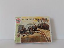 AIRFIX 01305 SERIES 1 H0/00 25 pdr FIELD GUN + QUAD STILL SEALED !