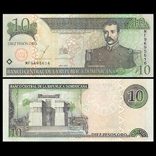 Dominican Republic 10 Pesos, 2003, P-168c, UNC