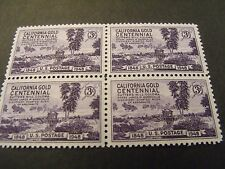 US Postage Stamps 1948 CALIFORNIA GOLD RUSH Centennial Scott 954  4-3 cent