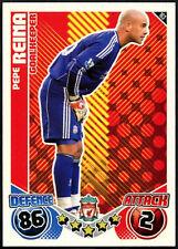Pepe Reina Topps Match Attax #163 Liverpool 2010-11 Tarjeta de Fútbol (C602)