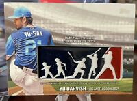2018 Topps MLB Players Weekend Commemorative Patches #PWP-YD Yu Darvish Los Ange
