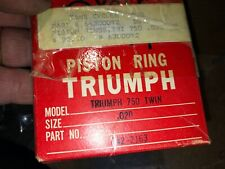 New ListingTriumph 750 Piston Rings .020 over Nos Made in Japan