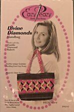 NewEazy Peazy Divine Diamonds Handbag Purse Pattern Double Diamond Ruler Needed