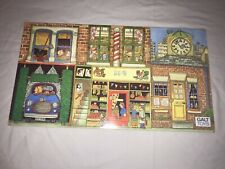 REALLY NICE WOODEN STREET SCENE WOODEN SLOT IN PUZZLE BY GALT TOYS