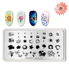 BORN PRETTY Nail Stamping Plate Overprint-L001 Nail Art Image Template