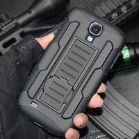 HEAVY DUTY Hybrid Armor Shockproof Hard Case Cover for Samsung Galaxy S4 i9500