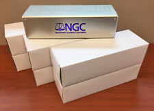 LOT of 6 SILVER New NGC Storage Box ~ FOR NGC Slabs