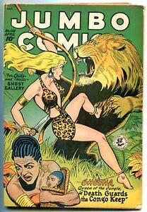Jumbo Comics #110 1948- Matt Baker- Sheena- Golden Age VG