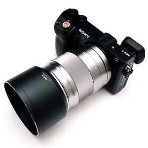 LIM'S SAH-BE49S1 Metal Lens Hood 49mm f/ Canon EF 50mm F1.8 STM Sony E 50mm F1.8