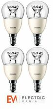 4x Philips E14 Small Edison Screw 4 Watt LED Spot Warm White [Energy Class A+]