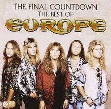 Europe-The Final conto alla rovescia: the Best of Europe 2 CD +++ 36 tracks +++ NUOVO