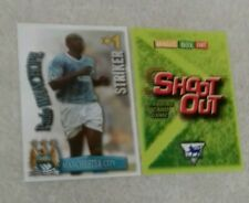 SHOOT OUT CARD 2003/04 (03/04) - Green Back -Manchester City - Paulo Wanchope