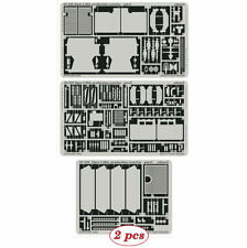 PE parts for Tiger I Mid. Production exterior, 1/35 (for ACADEMY), Eduard 35520